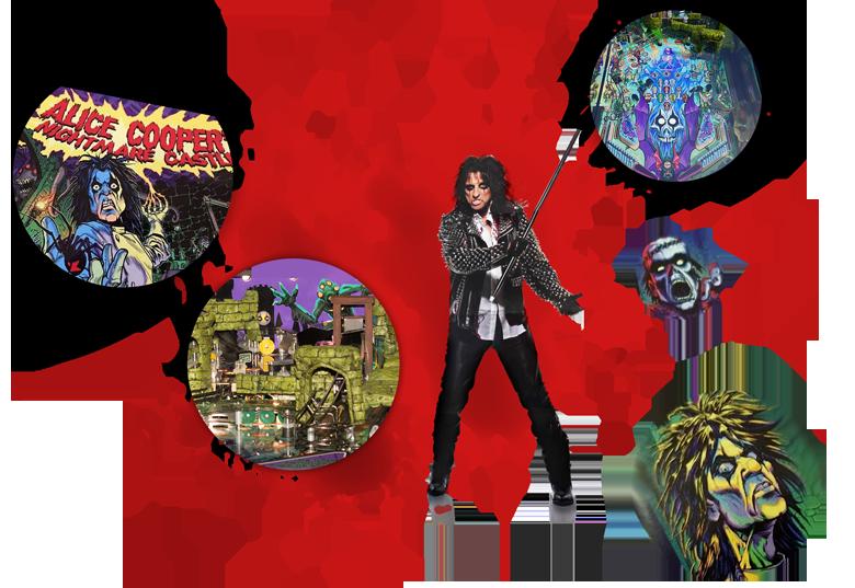 Alice Cooper - Nightmare Castle Pinball Order